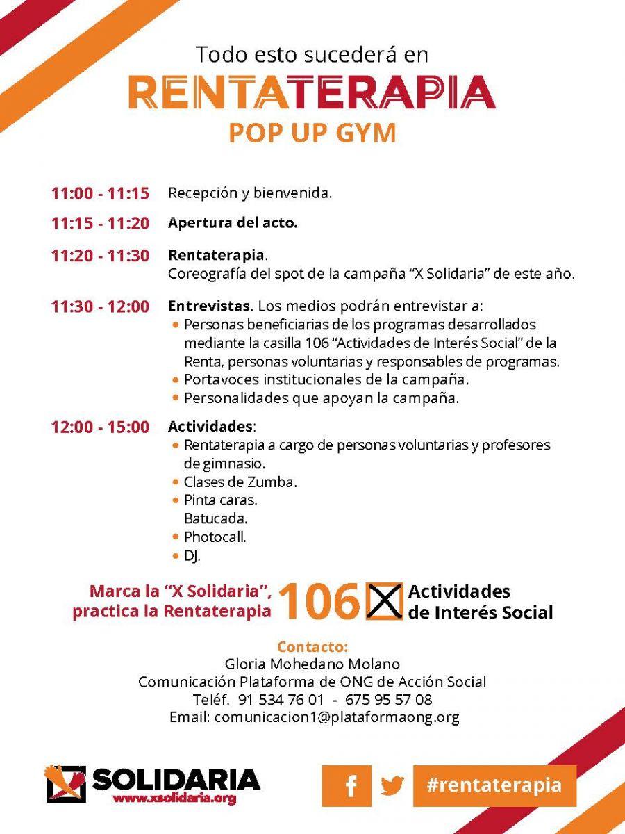 Ven Al Pop Up Gym El Sábado 6 De Mayo En La Terraza De La